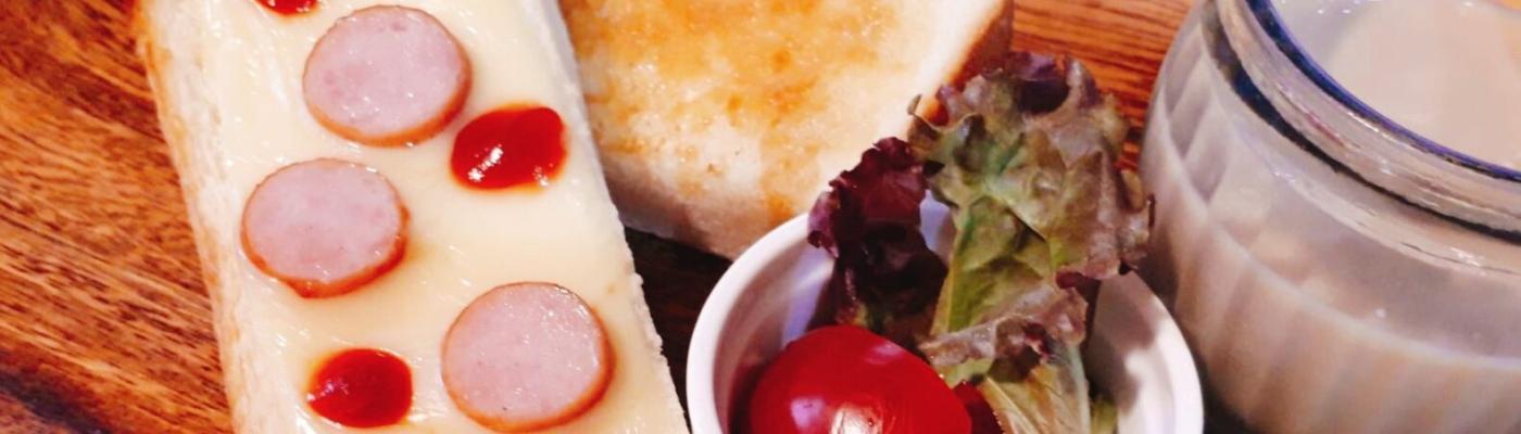 まどパン嘉島店スタッフOさん宅の朝食🍽